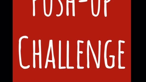 Thumbnail for entry 04-24-20 Push up Challenge