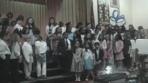 Thumbnail for entry Plaza School Elementary Select Chorus - Beat It (March 31, 2009)