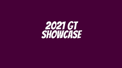 Thumbnail for entry 2021 GT Showcase