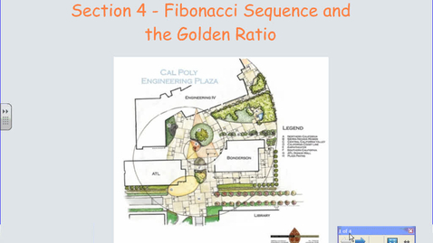 Thumbnail for entry Fibonacci's Sequence and the Golden Ratio