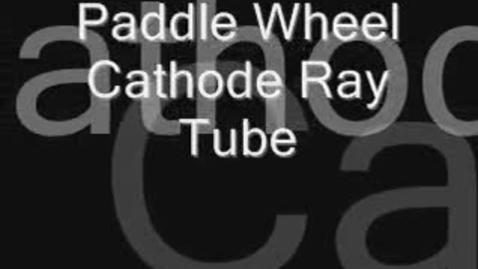 Thumbnail for entry Thomson's Paddle-wheel tube