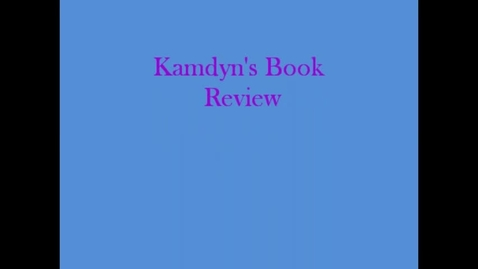 Thumbnail for entry 13-14 Linville Kamdyn's Book Review