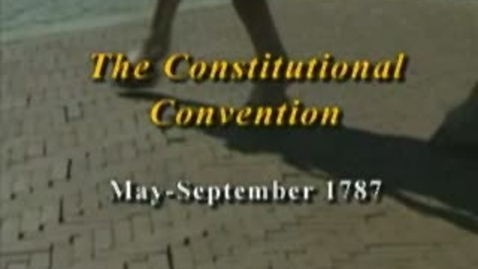 Thumbnail for entry Constitutional Convention