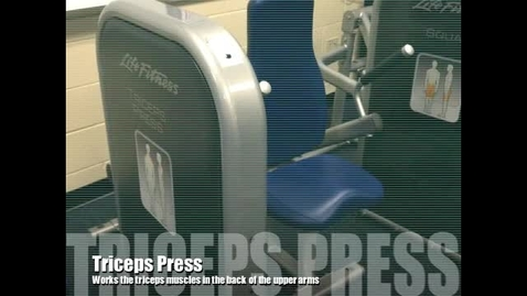Thumbnail for entry Triceps Press Demo