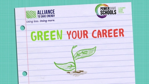 Thumbnail for entry Green Your Career9-12