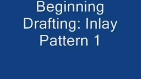 Thumbnail for entry Beg. Drafting: Inlay Pattern 1