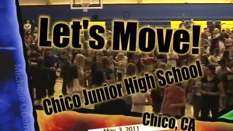 Thumbnail for entry CJHS Let's Move!
