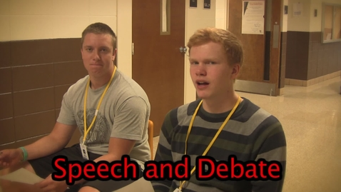 Thumbnail for entry Promo - Speech and Debate 2011 - ChiefTV