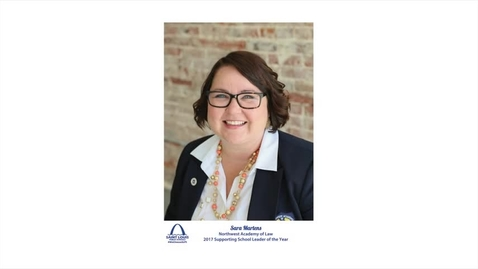 Thumbnail for entry Sara Martens, SLPS Supporting School Leader of the Year