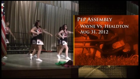 Thumbnail for entry WHS Pep Assembly 8-31-12