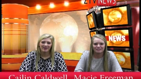 Thumbnail for entry March 9th  ZTV News