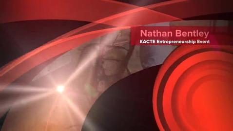 Thumbnail for entry KACTE Entrepreneurship Event Nathan Bentley