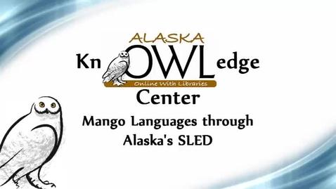 Thumbnail for entry Mango Languages