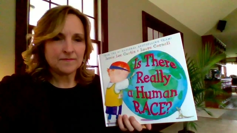 """Thumbnail for entry Mrs. O'Connor reading """"Is There Really a Human Race?"""