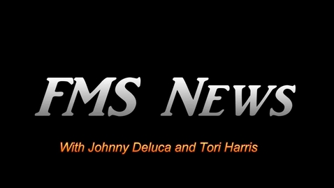 Thumbnail for entry FMS Spring Newscast