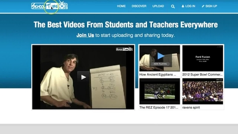Thumbnail for entry SchoolTube New Version Tutorial: How To Register