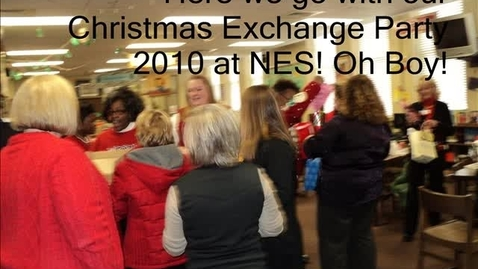 Thumbnail for entry Newberry Elementary Christmas Party