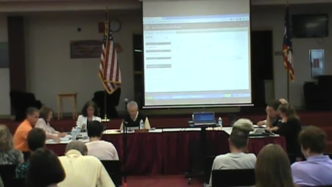 Thumbnail for entry BOE Meeting, 6/10/13