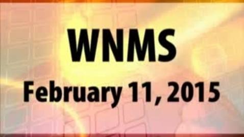 Thumbnail for entry 02-11-15 WNMS Season 1.5 Episode 79