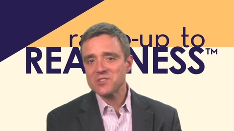Thumbnail for entry Ten Big Ideas Behind the Ramp Up to Readiness Program