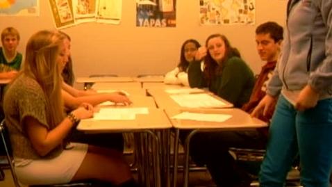 Thumbnail for entry AP Spanish Debate Salud (team #3, pt. 1)