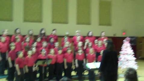 Thumbnail for entry Woodland Honor Choir Christmas Concert Part 2