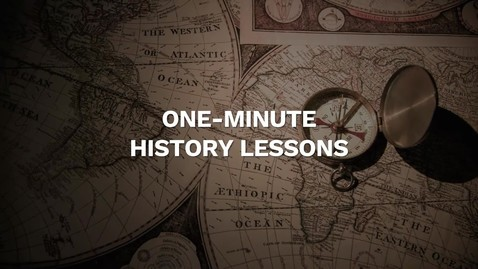 Thumbnail for entry Student Example: One-minute history lessons