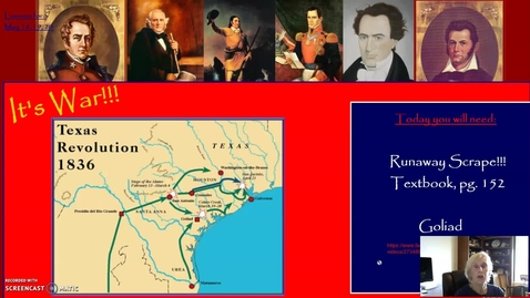 Thumbnail for entry Texas Revolution, Part One: The Runaway Scrape