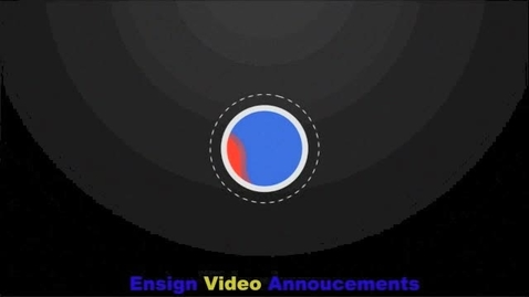 Thumbnail for entry Ensign Video Announcements for June 8th-12th