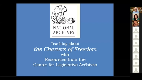 Thumbnail for entry The Charters of Freedom, with Dr. Charlie Flanagan of NARA Center for Legislative Archives