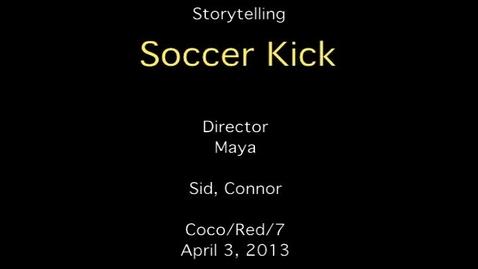 Thumbnail for entry Storytelling - Soccer Punch