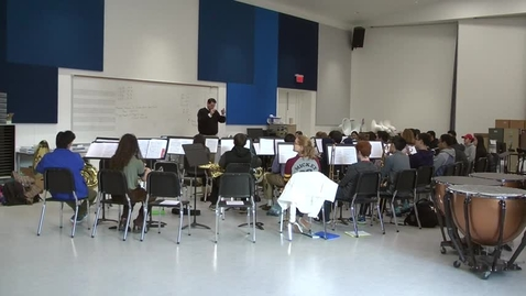Thumbnail for entry High School Orchestra student gets accepted into Symphonic Band
