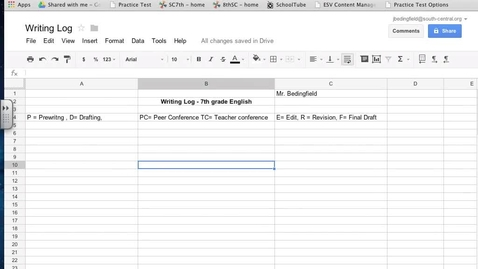 Thumbnail for entry Setting up Writer's Workshop in Google Docs