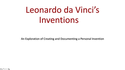 Thumbnail for entry Art Project Leonardo da Viinci's Inventions Part 1