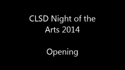 Thumbnail for entry 2014 Clay Night of the Arts - Opening