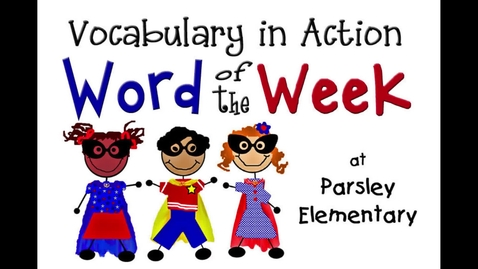 Thumbnail for entry Word of the Week:  Point of View