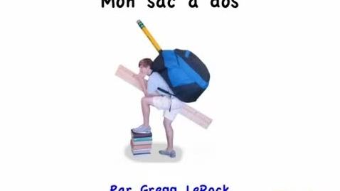 Thumbnail for entry Mon sac a dos / Gregg Lerock