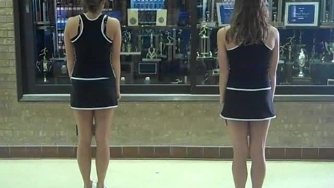 Thumbnail for entry EHS Tryout Dance Back View With Counts