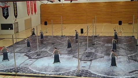 Thumbnail for entry Eclipse colorguard: i am steel