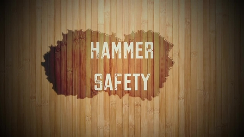 Thumbnail for entry Mr. Pantos Hammer Safety