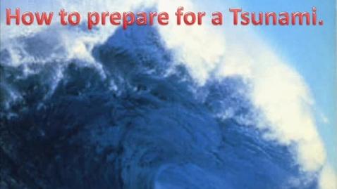 Thumbnail for entry Tsunamis chase