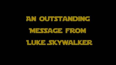Thumbnail for entry FCAT Star Wars - Luke Skywalker