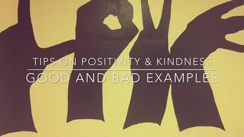Thumbnail for entry KLAK Special Feature- Positivity and Kindness