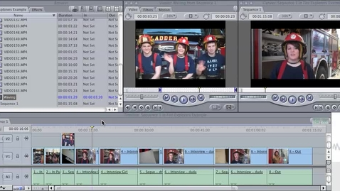 Thumbnail for entry FCE -- fire explorers jump cuts