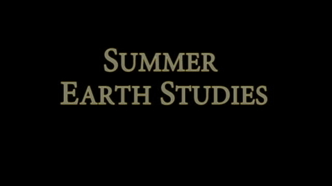 Thumbnail for entry Earth Studies