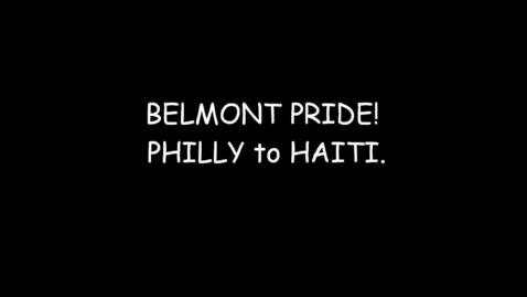 Thumbnail for entry Belmo.nt Pride. Philly to Haiti