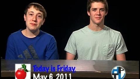 Thumbnail for entry Friday, May 6, 2011