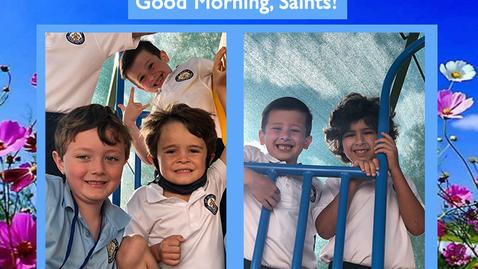 Thumbnail for entry Saints @ 8 - April 26, 2021