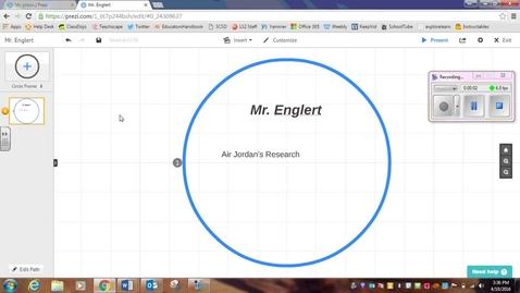 Thumbnail for entry Add Text to Prezi