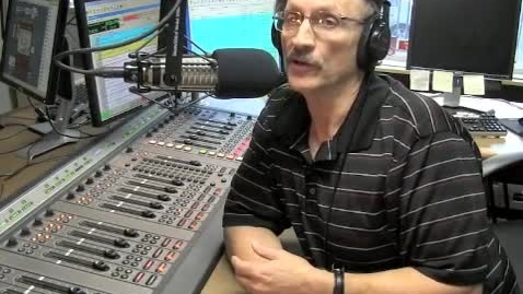 Thumbnail for entry Broadcast Journalism Multimedia Radio & Television Audio Production by Jim Becka